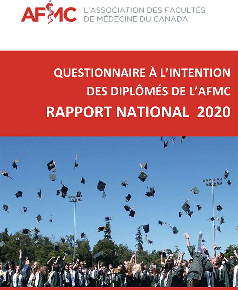 Screen capture of graduation quesionnaire, student throwing caps in the air.