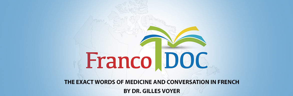 The exact words of medicine and conversation in French